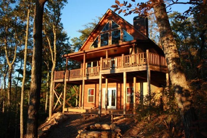 9. Over the Rainbow Cabin in Elijay, GA.