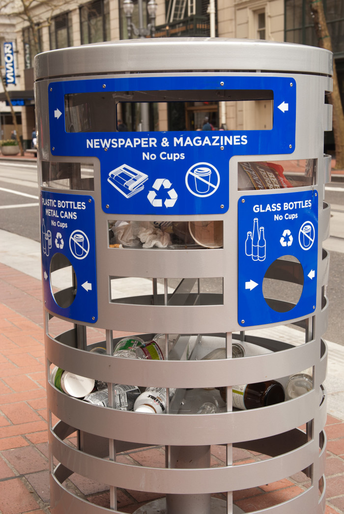 3) Oregon's got the recycling game on lock