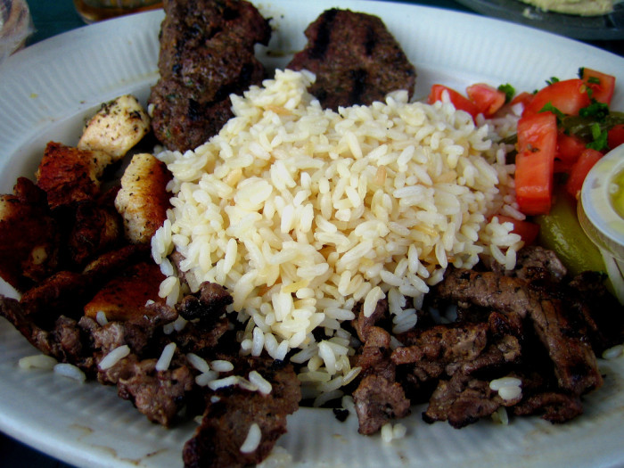 4) But the state is also a hub for amaaaaazing Middle Eastern food, thanks to our sizable Arab American community