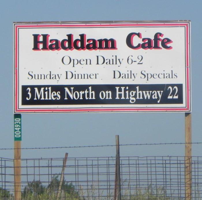 7.) Haddam Cafe (Haddam)
