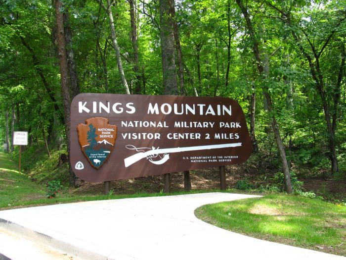 14. Kings Mountain National Military Park, Blacksburg