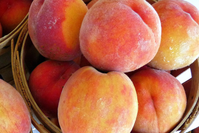 1) and 2) Peach Days