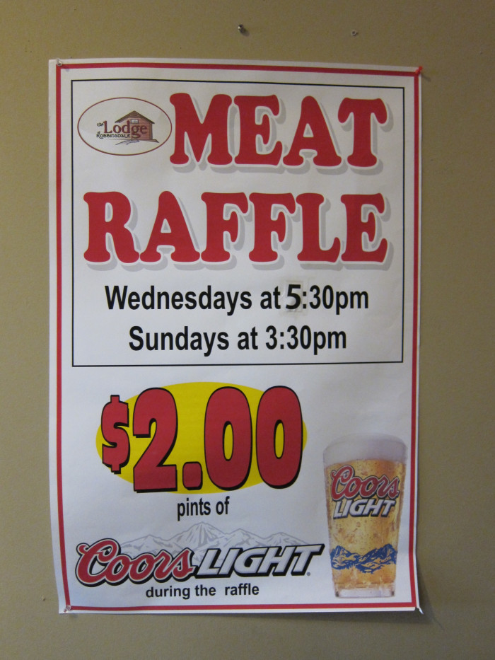 14. Meat Raffles are a regular occurrence. Another thing non-native Minnesotans have probably never heard of.