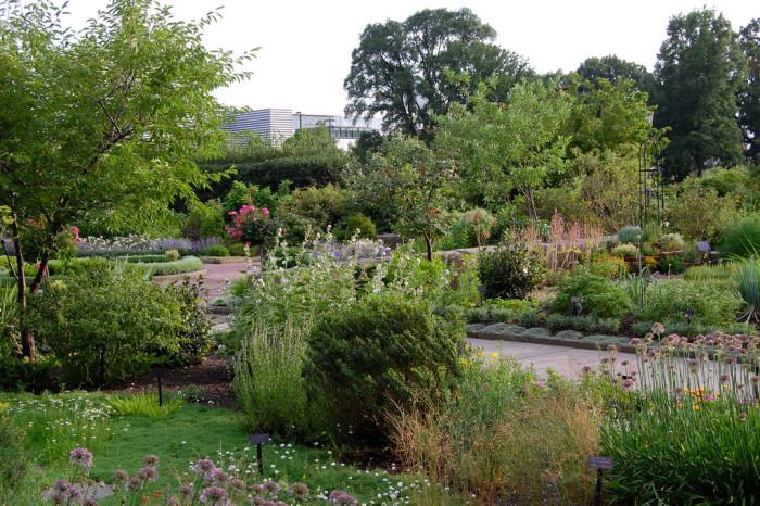 1) Cleveland Botanical Garden