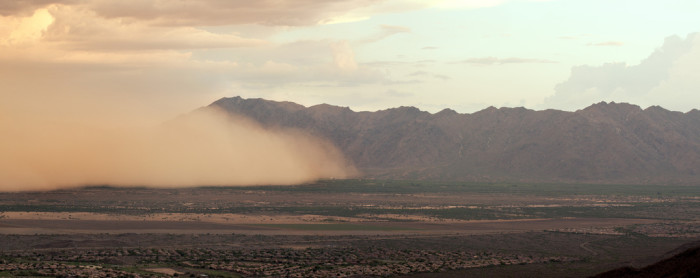 """9. Heated debates over whether to use the term """"haboob"""" or """"dust storm."""""""
