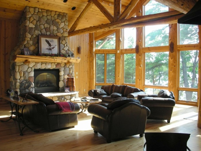 8. Lodge on Blackwater Lake.