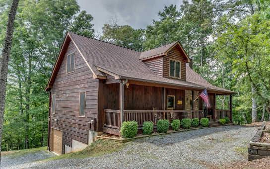 6. Blue Garnet Cabin in Elijay, GA