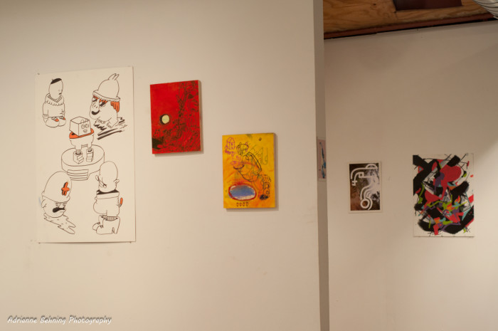 5. Admire the art at a gallery, like Public Space One in Iowa City.