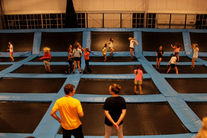 5. Get some air at a trampoline park