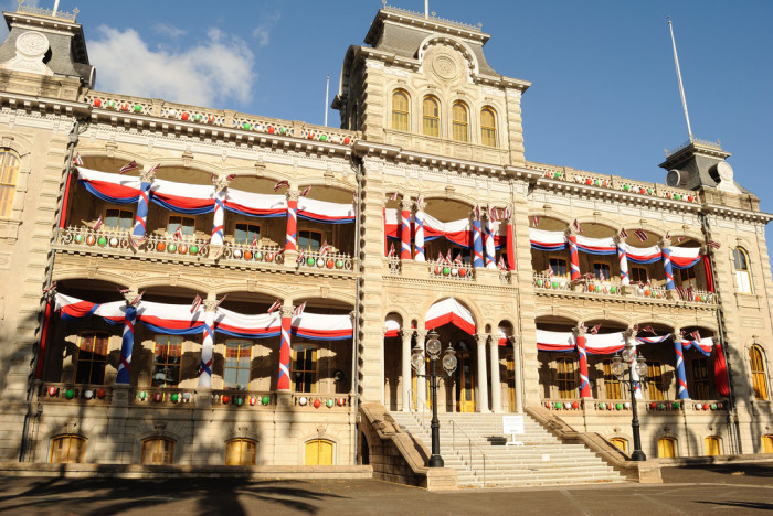 6) And the only royal palace on United States soil sits in our state's capitol.