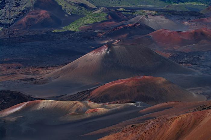 6) Haleakala Crater makes up approximately 75 percent of the island of Maui.