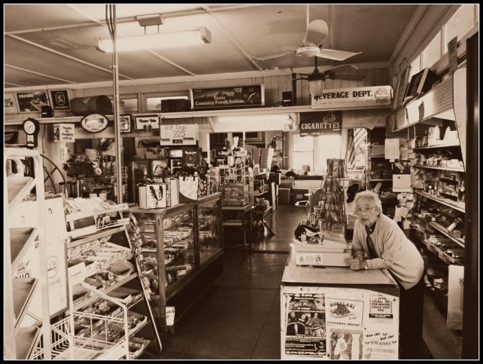 6) T. Komoda General Store