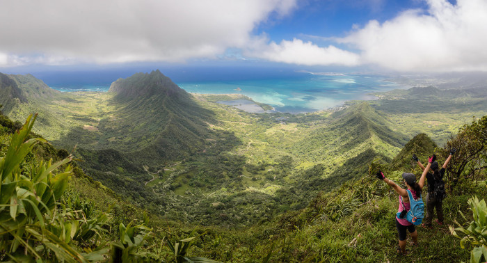 6) There is almost no place more serene than atop a beautiful Hawaiian mountain.