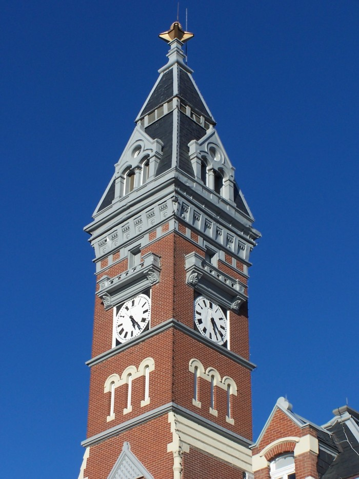 6. Nodaway County Courthouse Tower, Maryville