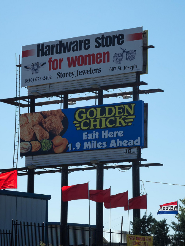 11) Never fear, ladies; now there's a hardware store made just for you!
