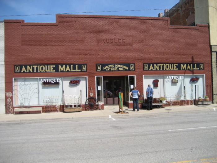 5. Abilene Downtown Antique Mall (Abilene)