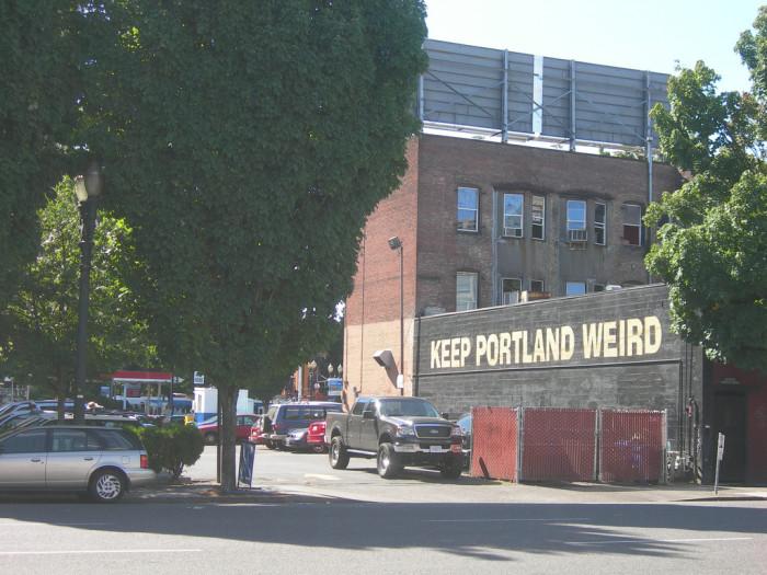 2) Portland is as weird as you've heard
