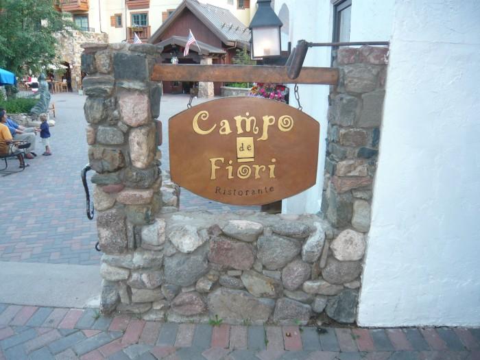 10. Campo de Fiori (Vail)