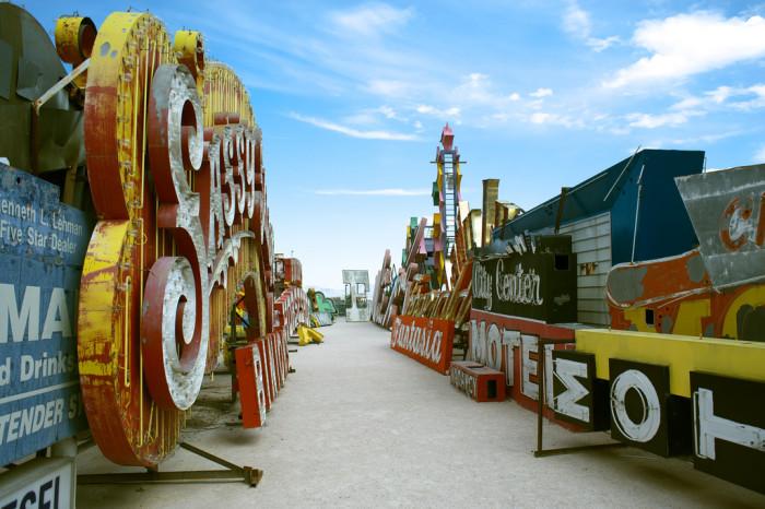 9. Neon Boneyard - Las Vegas