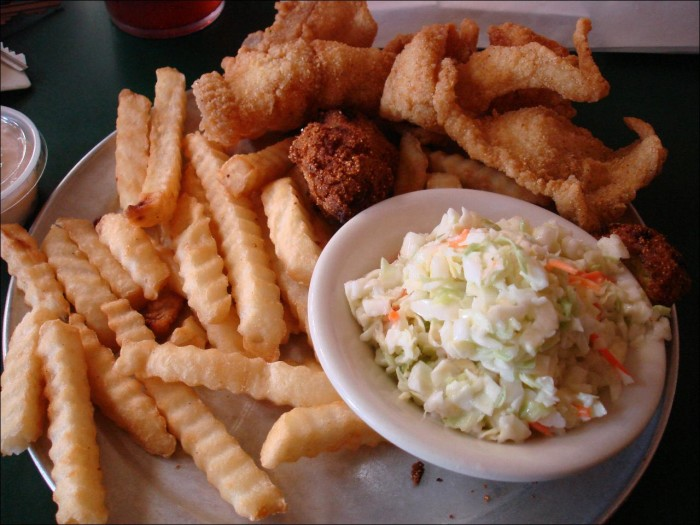 6. You can't get enough seafood.