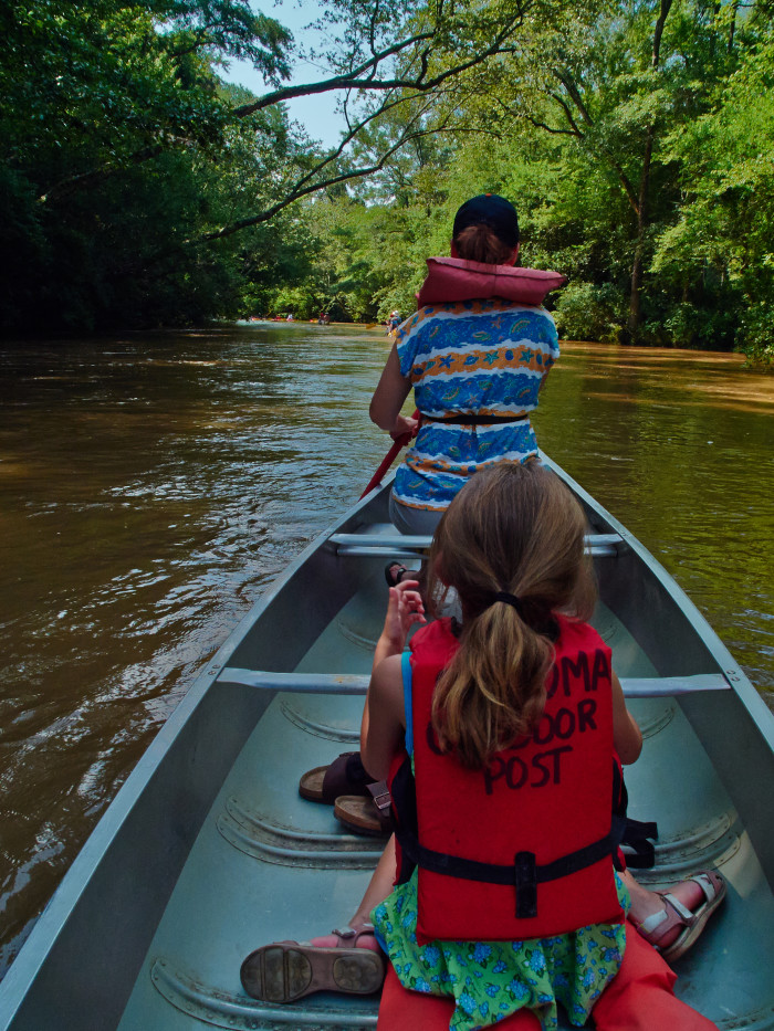 6. During the summer, creeks, rivers, and lakes are your best friend.