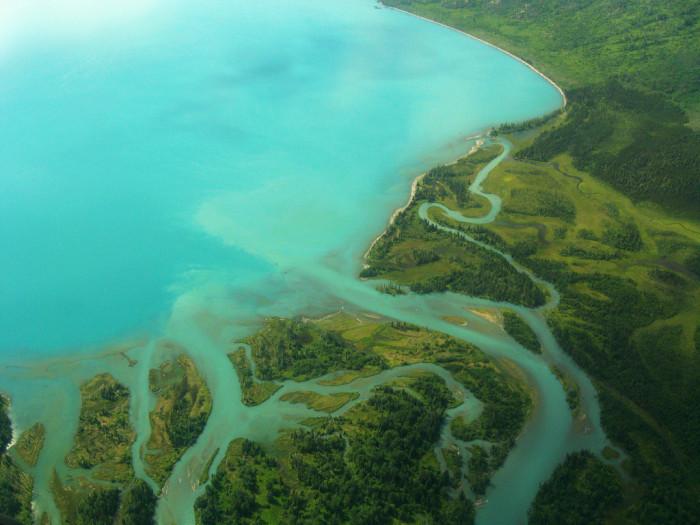 4) Skilak Lake Road Map