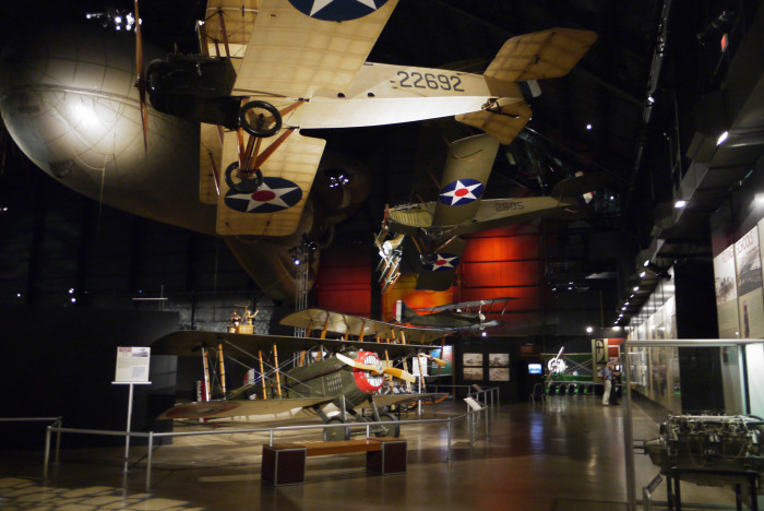 4. Check out the U.S. Air Force Museum.