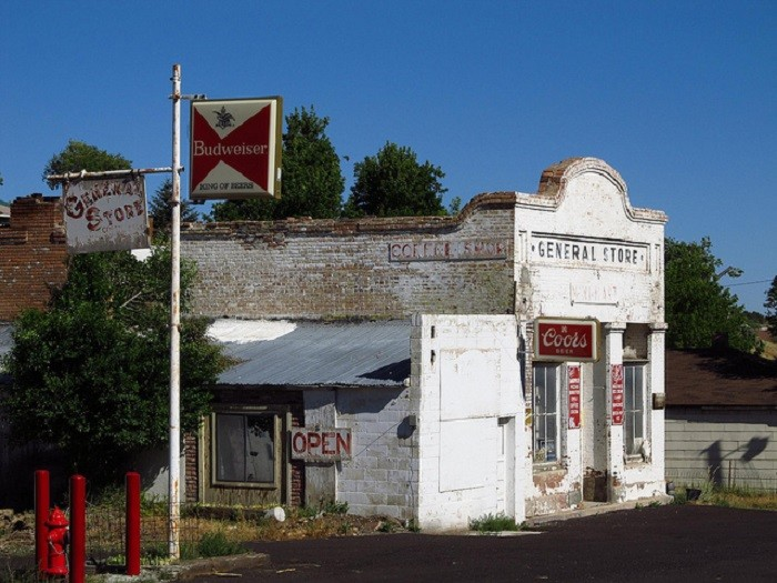 1. This general store is located in Eureka, Nevada. It was built in 1882 as the Ottawa Hotel.