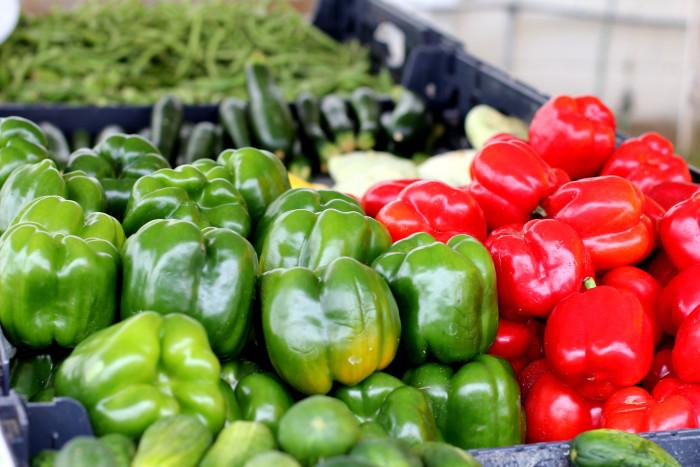 1. Locally Grown Vegetables/Organics