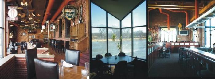 6. The Iowa River Power Restaurant, Iowa City