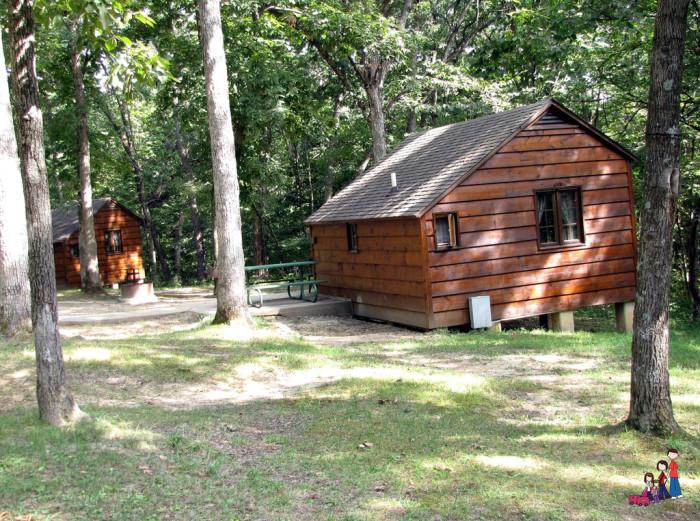 6. Cabins at Lacey Keosauqua State Park, Keosauqua