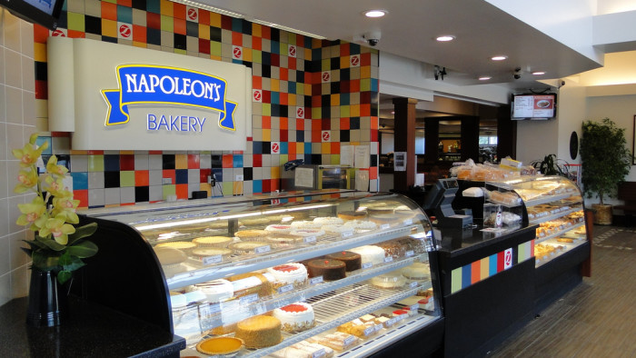 7) Napoleon's Bakery