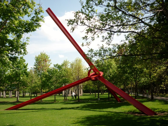 7. Walker Sculpture Garden is simply perfect for camera toting tourists and locals alike. You'll never run out of subjects.