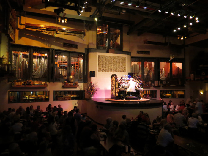 9. Enjoy pizza and live music at Organ Stop Pizza in Mesa.