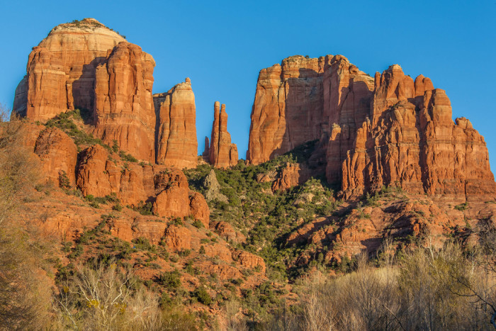 6. Cathedral Rock for an epic red-toned photo.