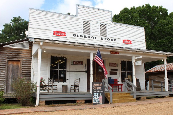 """7. """"Small Town Mississippi"""" General Store, Jackson"""