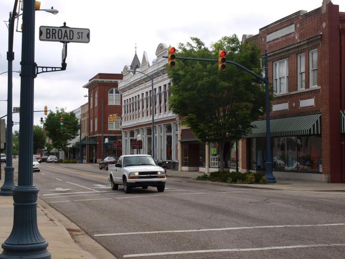9. Bennettsville, SC
