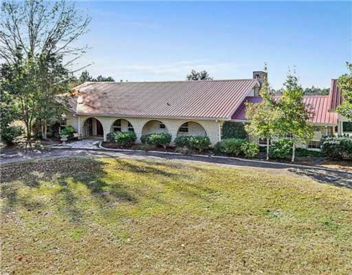 7. Boasting over 12 acres and a stocked pond, this beautiful Perkinston home is worth every penny of the $335,000 asking price.