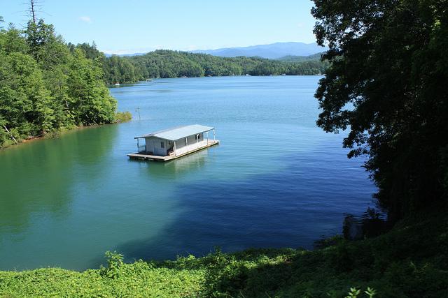 2. Fontana Lake, February