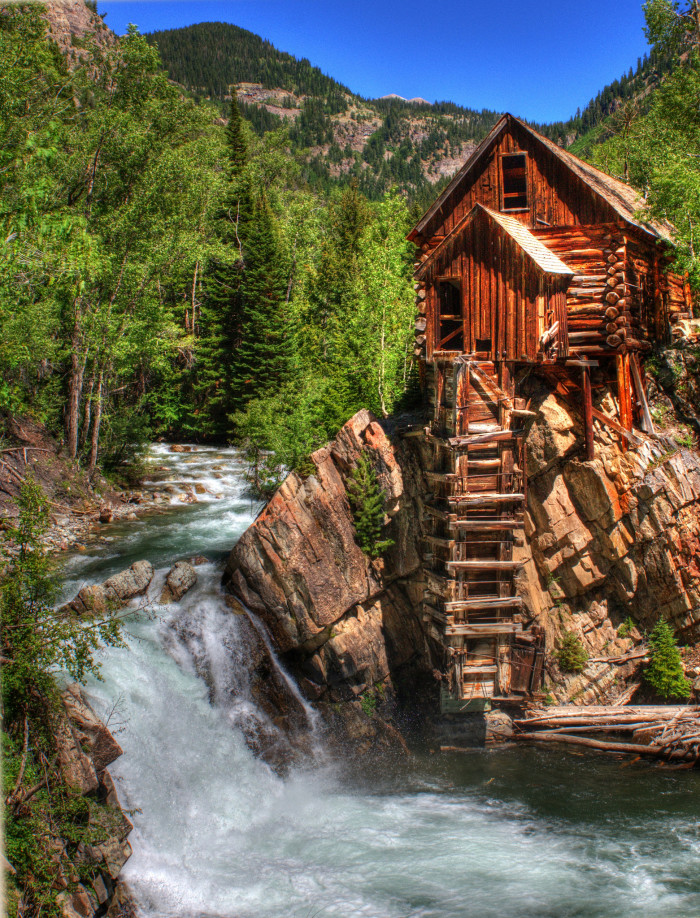 8.) The Crystal Mill (Marble)
