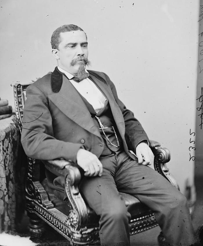 14. Alonzo J. Ransier (Governor, Civil Rights Activist, U.S. Representative) 1834-1882