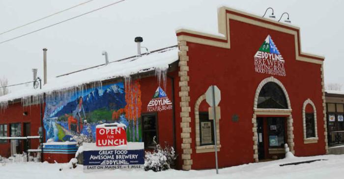 1.) Eddyline Restaurant and Brewing Company (Buena Vista)