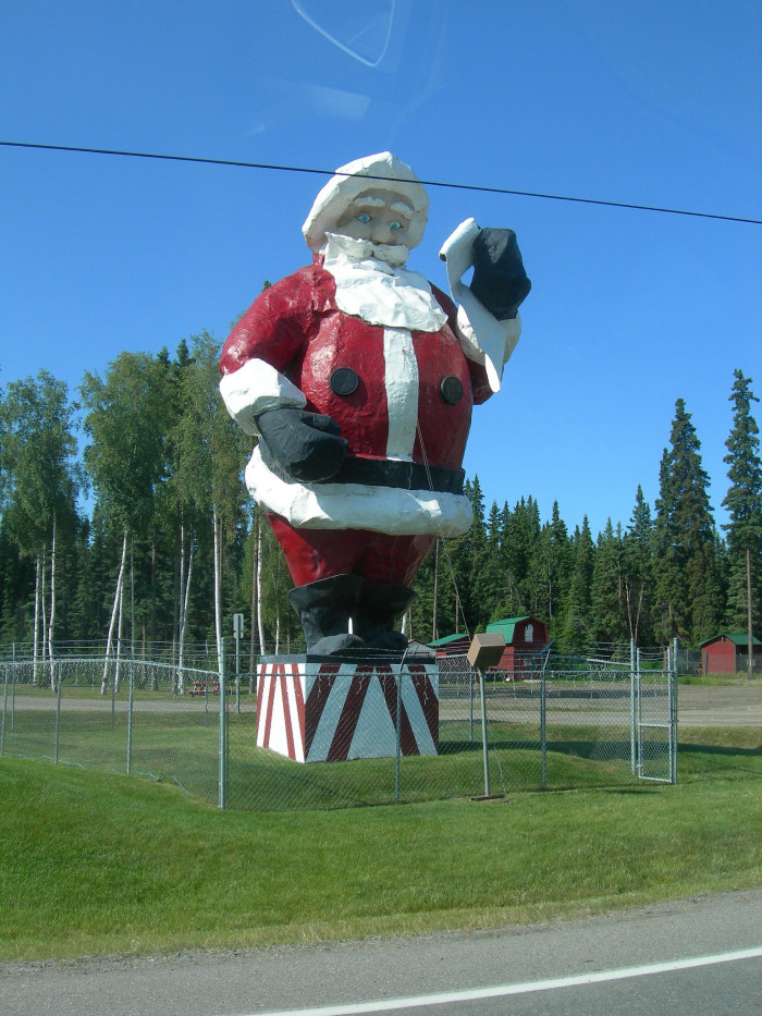 1) Santa Claus House and Statue