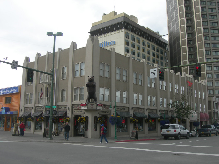 2) The Historic Anchorage Hotel