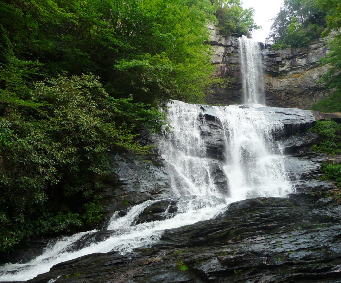 4. Raven Cliff Falls Trail and/or Loop, Cleveland