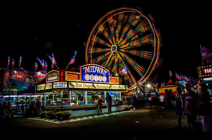1. The State Fair. We have THE best state fair in the country. And it's right around the corner.