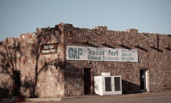 4. The Gap Trading Post, Gap