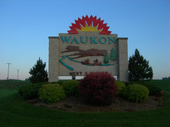 7. Waukon