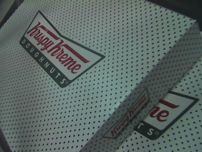 8) And last but not least, Krispy Kreme.
