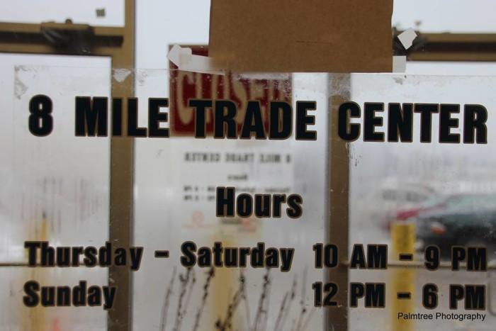 10) 8 Mile Trade Center, Detroit